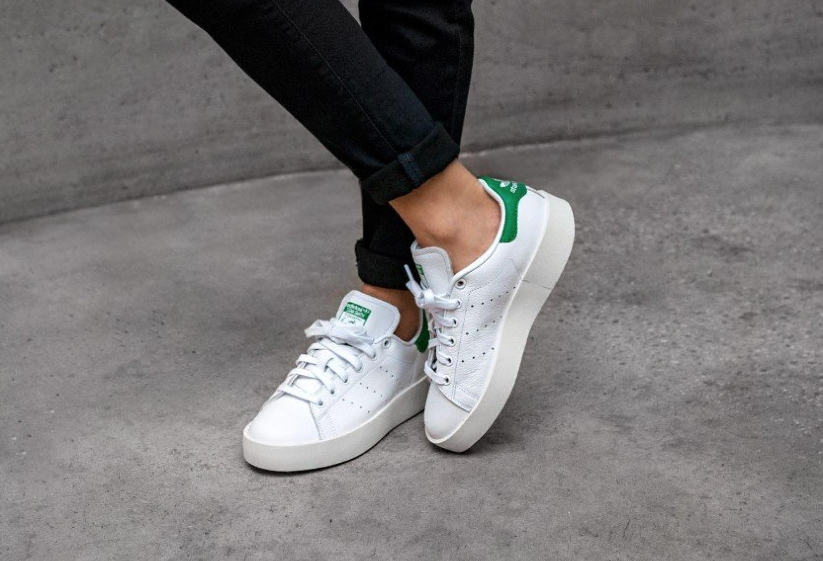 check out hot product huge discount Réduction authentique adidas stan smith plateforme Baskets ...